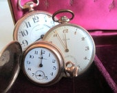 Antique Pocket Watch Collection Elgin Hamilton Instant Collection SteamPunk - ElmPlace