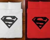Superman Duvet Cover Bedding Queen King Twin Size Full Double cotton sheets set superman bedding bedroom decor adult kids children