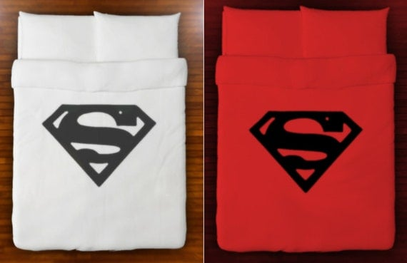 superman duvet cover bedding queen king twin size full double
