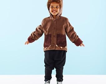 Bear Costume Childrens coat jacket