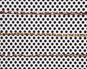 Metallic Leather Twist Headband