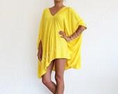 LITA TOP tunic draped asymmetric loose oversized jersey dress women fashion plus size maternity