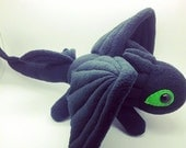 Cute Toothless Dragon / Night Fury Dragon (Large size)