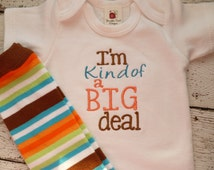Personalized Coming Home Oufit, Take  Home From Hospital Outfit,  Layette Gown, or one piece, leg warmerst Set