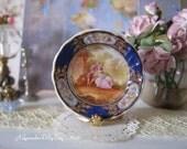 Aubergine Sevres Un Lovers Dollhouse Plate