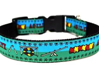"Agility Dog Collar 1"" Sport Dog Collar"