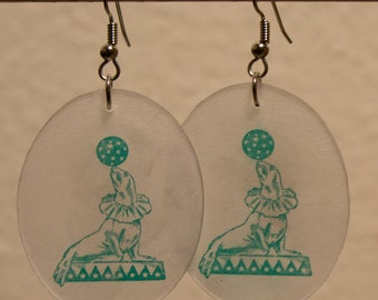 Teal Circus Seals - sale