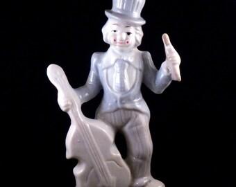 Vintage Clown Figurine - Porcelain Clown Figurine - Collectible Clown Figurine - Clown Home Decor - Vintage Clown Home Decor - Pastel Color
