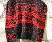 Vintage Ralph Lauren Cozy Hand Knit Wool Sweater