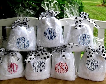 Personalized Towels- Large Bath towels or Hooded for babies. . .these make great gifts