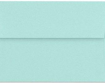 """SALE - Seafoam Aqua A6 Envelopes 4 3/4"""" x 6 1/2"""""""