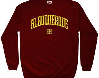 Albuquerque 505 Sweatshirt - Men S M L XL 2x 3x - Crewneck Albuquerque Shirt - New Mexico - 4 Colors