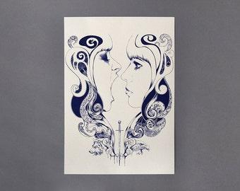Pearls, 2013, A3 Giclee Art Print