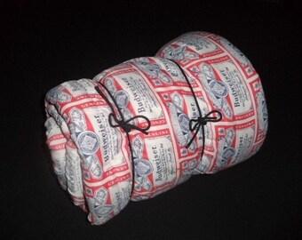 Budweiser Beer Vintage Camping Sleeping Bag