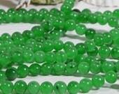 Jade Beads 6.4mm Natural Gemstone Beads Freeform Beads Jewelry Making Supplies