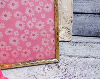 Vintage Ornate 8x10 Shabby Brass Metal Picture Frame/Wedding Decor/Wedding Frame/Vintage Wedding.