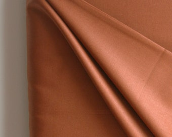 Solid in Chocolate from Art Gallery Fabrics Pure Collection. - ONE FAT QUARTER  Cut