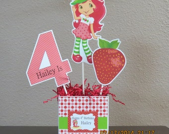 Strawberry Shortcake Centerpiece (DIY)
