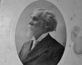 Vintage photography, Reverend Kimball, Old Photograph circa 1906, Gelatin Silver Photograph....