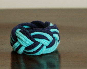 Cotton Cuff Bracelet - by LimeGreenLemon