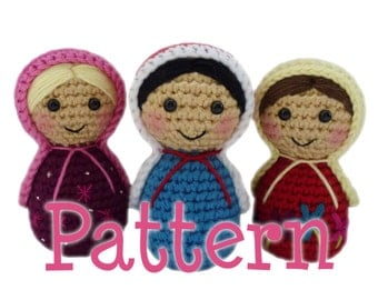 Crochet Russian Doll Pattern Amigurumi