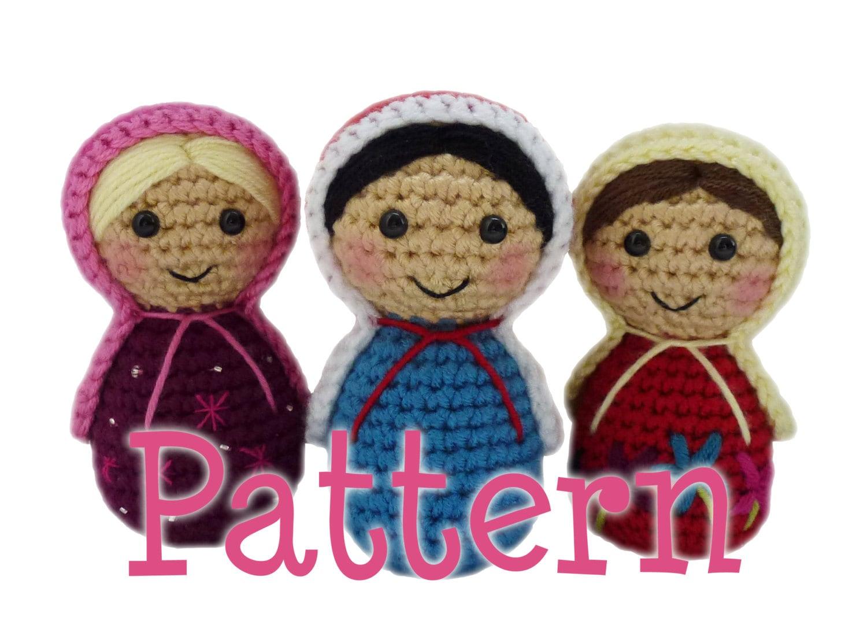 Amigurumi Russian Doll Pattern : Amigurumi russian dolls kalulu for