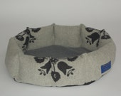 Donut Bed from Pendleton genuine wool. Washable.  Free Shipping.