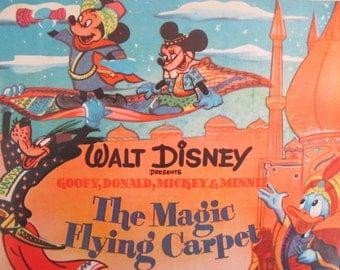 VINTAGE 1950s DISNEY vinyl record - The Magic Flying Carpet