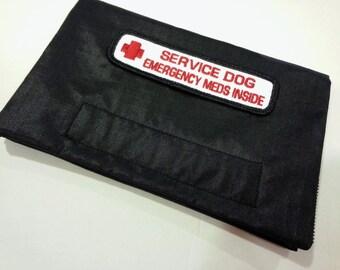 Service Dog Emergency Medicine Medication Epipen Inside