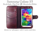 Leather Samsung Galaxy S5...