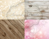"""SaMPLe / FOUR PACK / 12"""" x 12"""" Vinyl Photography Backdrops for Product Photos"""