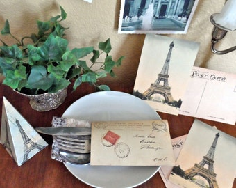 French Parisian Printable Instant Download Mini Party Pack Kit