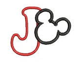 Mickey Mouse Embroidery Design, Applique Disney, Machine Embroidery Design, Custom Order for You