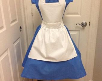 Plus- Alice costume apron dress