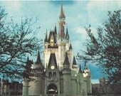 Vintage Postcard Cinderella Castle Collectible Postcard Old Postcard