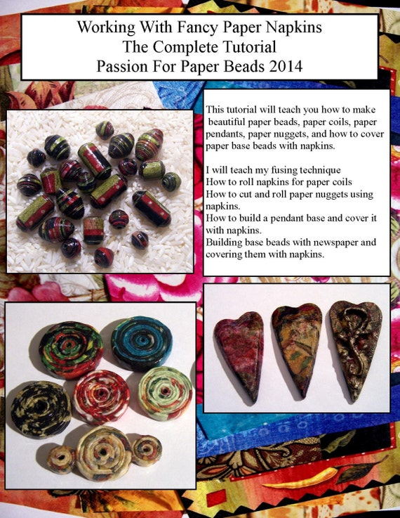 paper beads tutorial