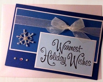 Card - Holiday - Warmest Holiday Wishes