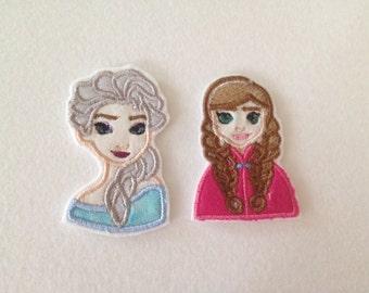 FROZEN Elsa or Anna MINI PATCH