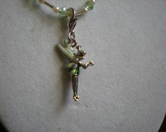 Tinker Bell Necklace and Bracelet Extender Set