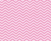 Surrounded By Love by Moda, Pink Fabric, Pink Chevron, Valentine Fabric, 02268