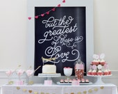 CUSTOMIZABLE PARTY COLLECTION - Watercolor Valentines Collection - Mirabelle Creations
