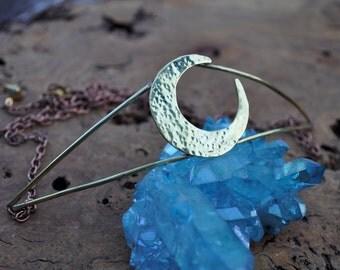 La Luna Crown // Sailor Moon // Cosplay Elf Fairy Fantasy Tiara Crescent