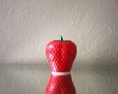 Vintage Milk Glass Strawberry Sugar Bowl