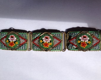 Italian Millefiori Bracelet