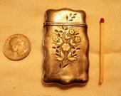 Price Reduced Sterling Silver Victorian Match Safe Vesta c. 1800's