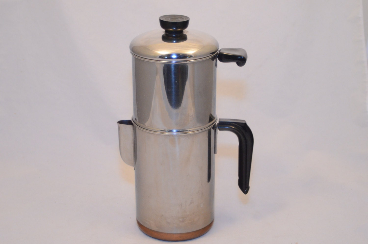 Old Drip Coffee Maker : Vintage 1960s Revere Ware Drip-O-Lator 8 cup Coffee Maker