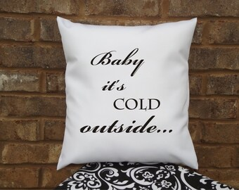 Items Similar To Baby Its Cold Outside Christmas Snowflake