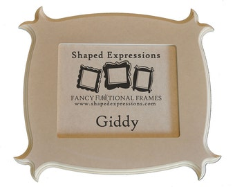 READY TO SHIP - 4x6 Giddy unfinished picture frame