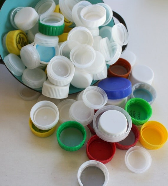 Recycled and reusable plastic bottle caps by chromaticitysupply - Can you recycle bottle caps ...