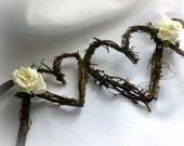 Guirlande de toile de fond, un décor Chic rustique, douche nuptiale, réception de mariage Boho, 5 pi